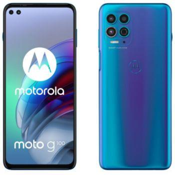 Motorola G100 Bleu