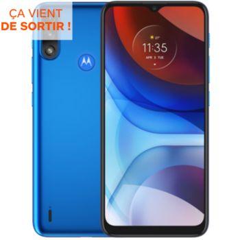 Motorola E7i Power Bleu