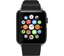 Bracelet Incipio Premium cuir Apple watch 42mn noir
