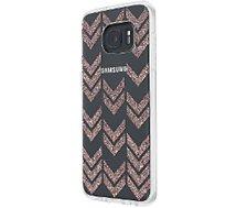 Coque Incipio Samsung S7 Edge chevron glitter