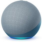 Assistant vocal Amazon Echo 4 Bleu gris