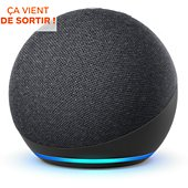 Assistant vocal Amazon Echo Dot 4 Anthracite