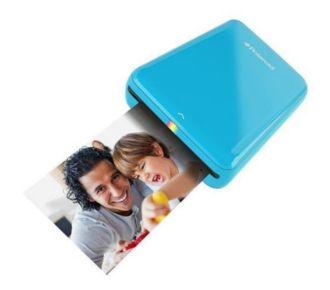 Polaroid ZIP bleue