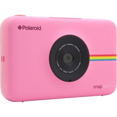 polaroid appareil photo instantan snap touch rose c photovideopascher. Black Bedroom Furniture Sets. Home Design Ideas