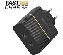 Chargeur USB C Otterbox  2 USB-C 30W + 20W noir