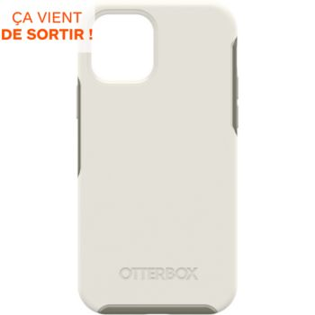 Otterbox iPhone 12/12 Pro Symmetry Magsafe blanc