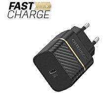 Chargeur secteur Otterbox  USB-C 20W noir