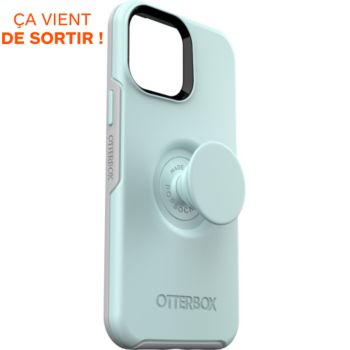 Otterbox iPhone 13 Pro Max Pop Symmetry bleu