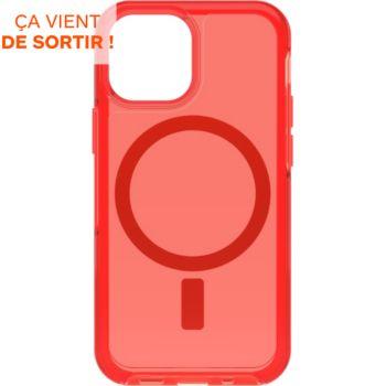 Otterbox iPhone 13 mini Symmetry+ rouge MagSafe