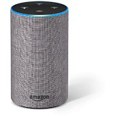 Assistant vocal Amazon Echo 2 tissu Gris chiné
