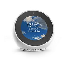 amazon echo spot noir assistant vocal boulanger. Black Bedroom Furniture Sets. Home Design Ideas