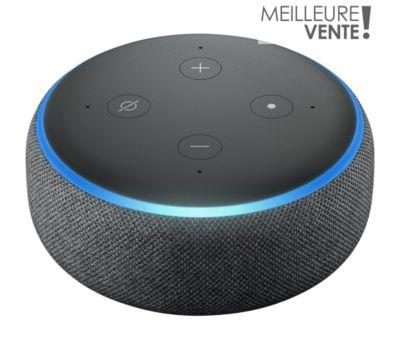 Assistant vocal Amazon Echo Dot 3 Noir
