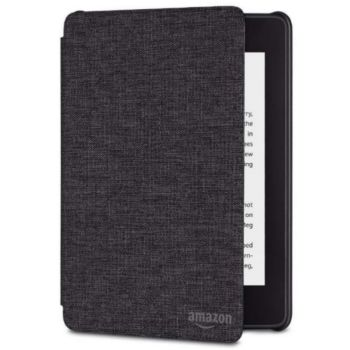 Amazon Cover Kindle Paperwhite Tissu Noir