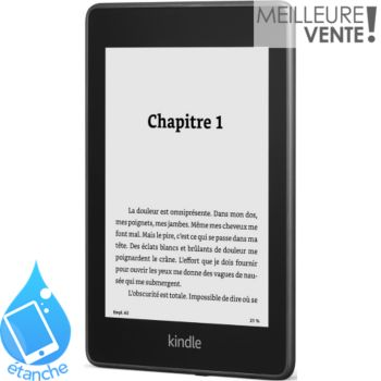 Amazon Nouveau Kindle Paperwhite 6' Noir 8Go