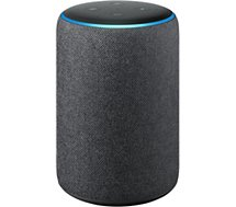 amazon echo plus 2 me g n ration blanc assistant vocal boulanger. Black Bedroom Furniture Sets. Home Design Ideas