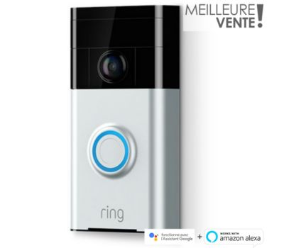 Interphone Ring Doorbell V2 Connecté