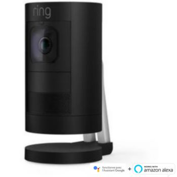 Ring Stick Up Cam Battery Noire