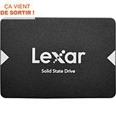 Disque SSD interne Lexar 128 Go NS100 2.5'' SATA III (6Gb/s)