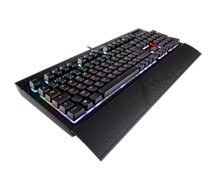Clavier gamer Corsair K68 RGB Cherry MX Red Dust and Spill