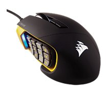 Souris gamer Corsair Scimitar Pro RGB - Jaune