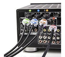 Identificateur Dotz pour câble Pack de 12
