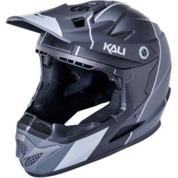 Kali Protectives Zoka Stripe Mat Noir/Gris M