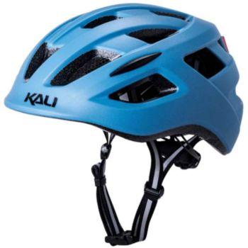 Kali Protectives Central Solid Mat Bleu acier L/XL
