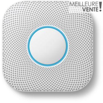 Nest Protect: détecteur de fumée + CO