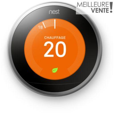 Domotique automatisation l 39 achat malin boulanger - Thermostat connecte nest ...