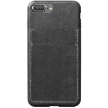 Nomad IPHONE 7+ CUIR CARTE DE CREDIT GRIS