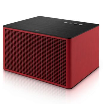 Geneva Acoustica Lounge Red