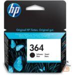 Cartouche d'encre HP 364 noire