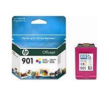 Cartouche d'encre HP  N°901 couleurs