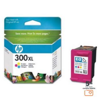HP N°300XL couleurs