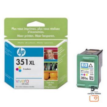 HP N°351XL 3 couleurs