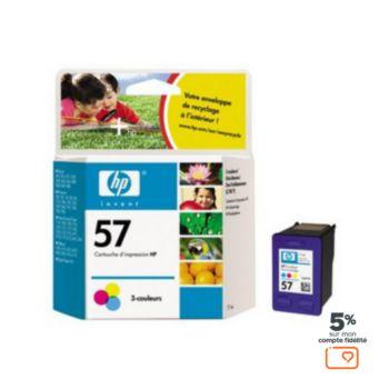 HP N°57  3 couleurs