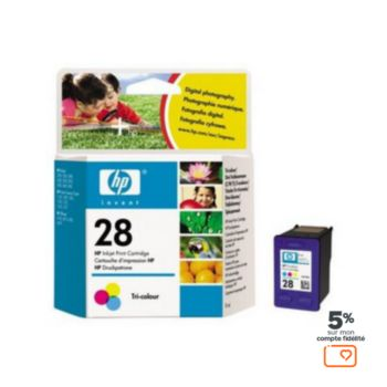 HP N°28A 3 couleurs