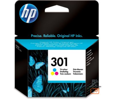 Cartouche d'encre HP 301 3 couleurs
