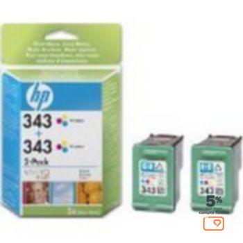 HP N°343 (2 cartouches)
