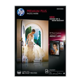 HP CR672A Premium A4 Brillant 300g 20f