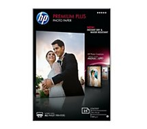 Papier photo HP  Premium Plus 10x15 25f 300g