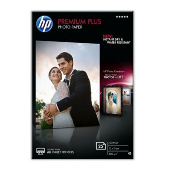 HP Premium Plus 10x15 25f 300g