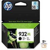 Cartouche d'encre HP N°932 XL noire