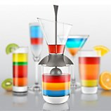 Verseur Final Touch  multicouche Rainbow Cocktail