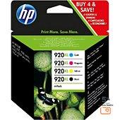 Cartouche d'encre HP N°920 XL (Noire Cyan Jaune Magenta)