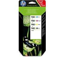 Cartouche d'encre HP  N°940 XL (Noire Cyan Jaune Magenta)
