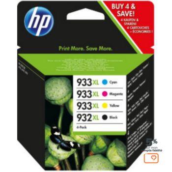 HP N°932XL +N°933XL (N/C/M/J)