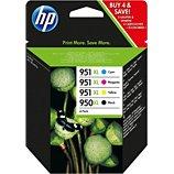 Cartouche d'encre HP  N°951XL/950XL (N/C/M/J)