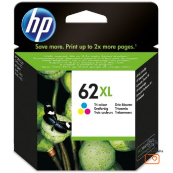 HP N°62XL 3 couleurs