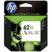 Cartouche d'encre HP N°62XL 3 couleurs